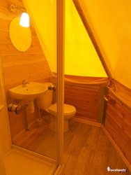 Double tipi au sol - Camping d'Aleth