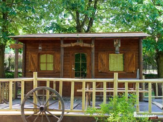 Cabane du Mohican - Camping d'Aleth