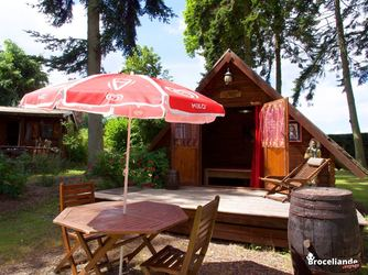 Cabane pionnier - Camping d'Aleth
