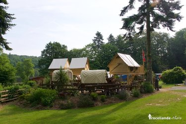 Campement Western - Camping d'Aleth