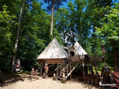 Double tipi perché - Camping d'Aleth